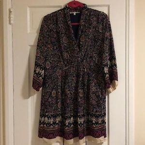 Paisley Maternity Dress or Long Top